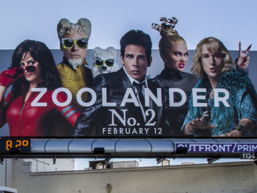 Zoolander No.2 Movie Promotional Event